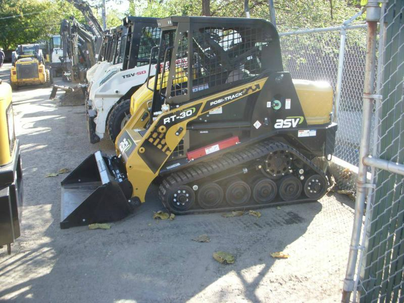 Asv Rt30 Mini-track-loader