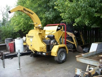 Vermeer Brush Chipper