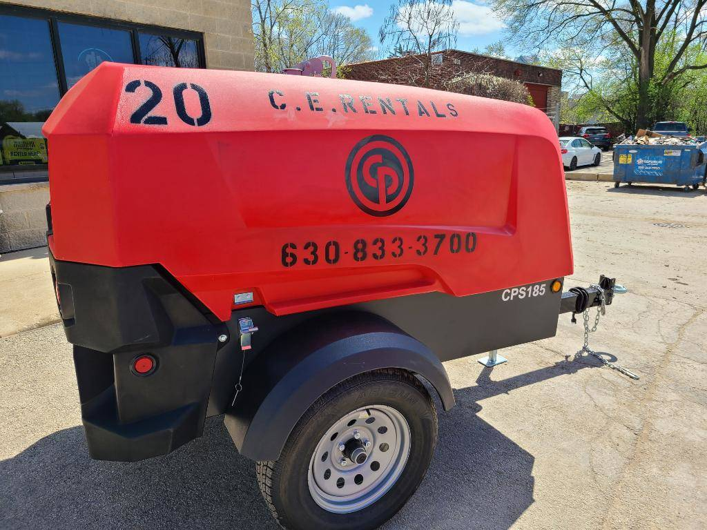 20 2021 CHICAGO PNEUMATIC CPS185 KD8